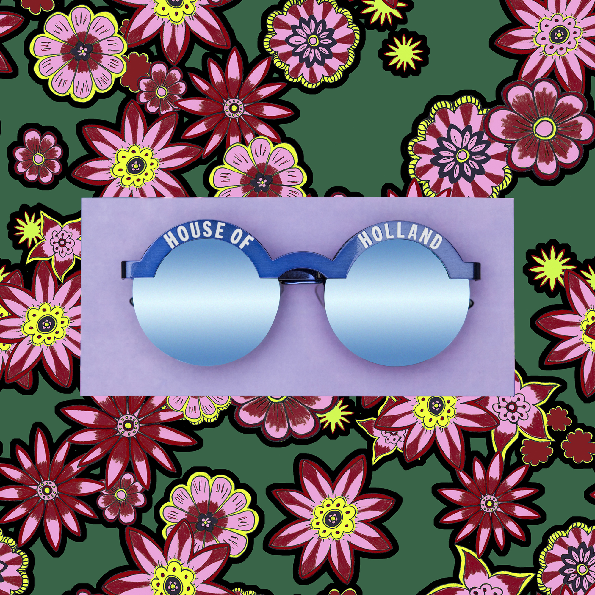Brow Beater Floral